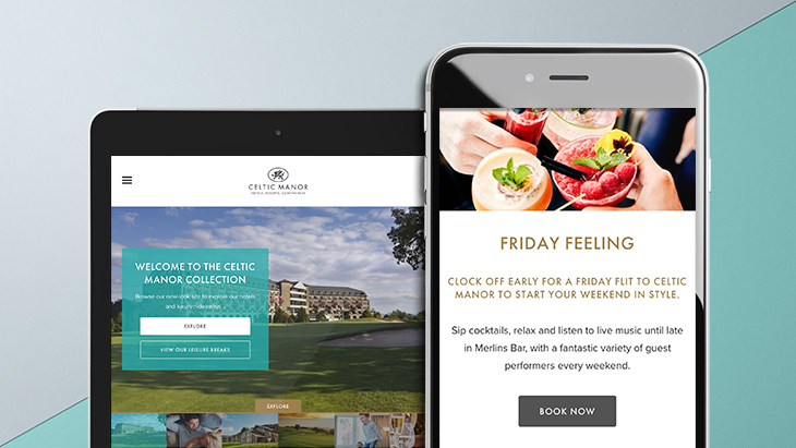 Kook Project – Celtic Manor Website